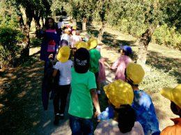 Escola visita CSF